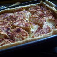 Tvarohový koláč s jablky recept