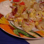 Francouzské brambory se smetanou recept