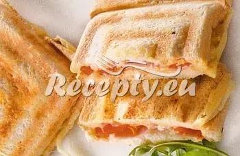 Tousty s houbami a taveným sýrem recept  topinky, toasty, sendviče ...