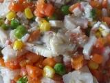 Krabí tyčinky se zeleninou a Šmakounem recept