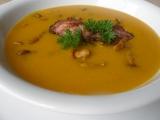 Dýňová polévka s liškami recept