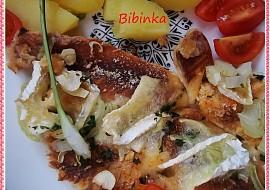 Křupavé rybí kousky s Hermelínem recept