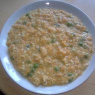 Mrkvová polévka s vločkami recept