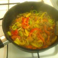 Zeleninová směs se sojovým masem recept