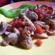 Kuřecí kousky na paprice recept