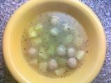 Rychlá česnečka s knedlíčky recept