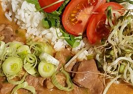 Krůtí perkelt se zeleninou recept
