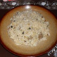 Hovězí rizoto s houbami recept