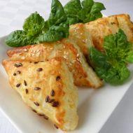 Listové trojhránky s mangoldem recept