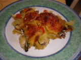 Smetanové brambory s rukolou recept