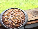 Bezlepkový rybízový koláč s kokosem recept