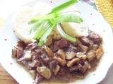 Ledvinky na hříbkách recept