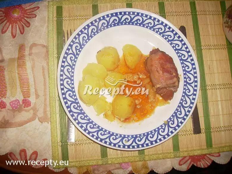 Pečení skřivani recept  drůbeží maso