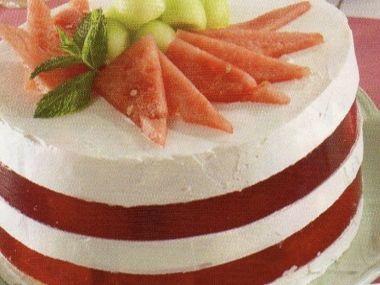 Choceňský melounový dort