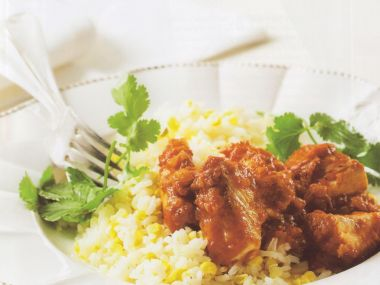 Ryba s rýží po mexicku