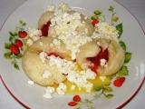 Kynuté jahodové knedlíky recept