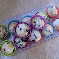 Chutné borůvkové muffiny recept