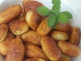 Smažené patronky z bramborové kaše recept