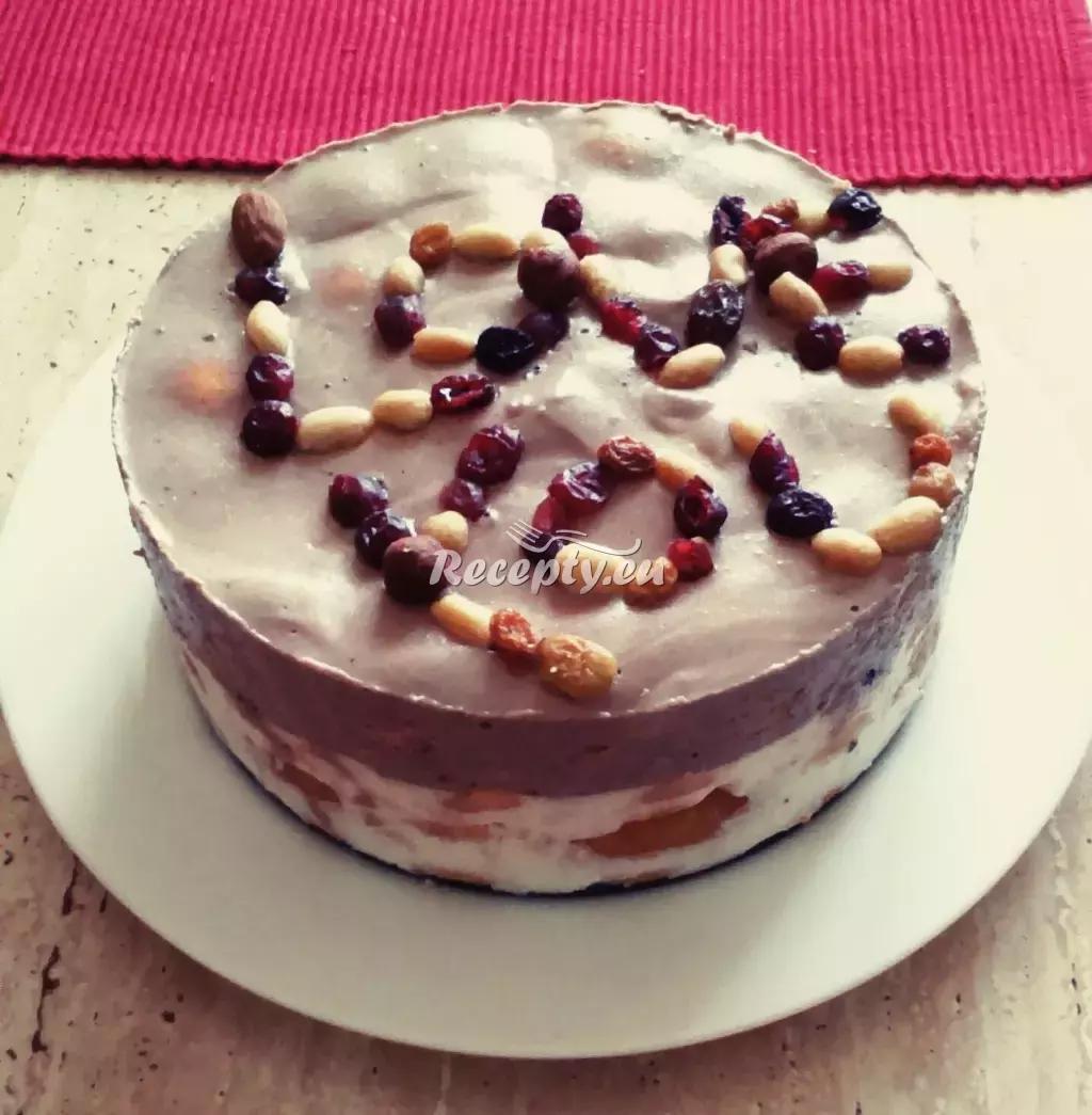 Valentýnský tvarohový nepečený dort recept  slavnostní pokrmy ...