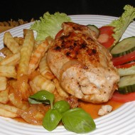 Plněná kuřecí kapsa recept