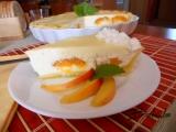 Tvarohový koláč s meruňkami II. recept