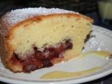 Švestkový koláč s vaječným koňakem recept