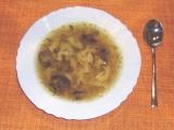 Houbovo-uzená polévka recept