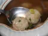 Hermelínové knedlíčky do polévky recept