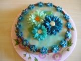 Piškotový dort s čokoládovým krémem recept