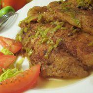 Pikantní filé s medem recept