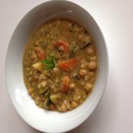 Zdravá cizrnová polévka recept