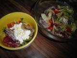 Zeleninový salát se žampiony, bylinkami a balsamicem recept ...