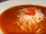 Rajčatová polévka s nudlemi recept