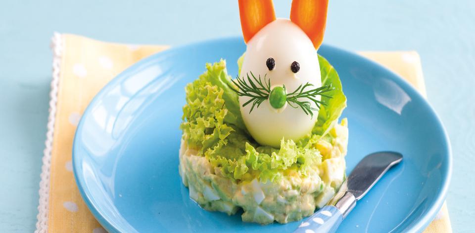Vajíčková pomazánka s avokádem