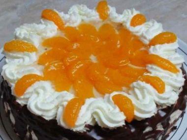 Rychlý mandarinkový dortík