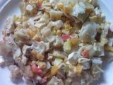 Zapečené těstoviny s bylinkovým tofu recept