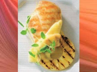 Drůbeží prsíčka s ananasem