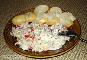 Rybí salát z králíka