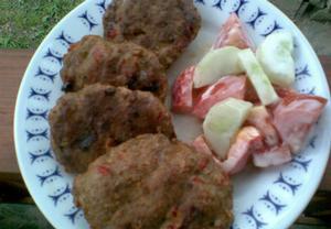 Paprikové karbanátky na gril nebo pánev
