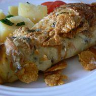 Kuřecí kousky ve vaječné omeletě recept