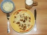 Těstoviny se sýrem II. recept