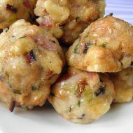 Špekové knedlíky vařené v páře recept