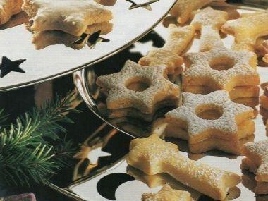 Vánoční hvězdičky  cukroví
