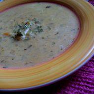 Strouhaná bramborová polévka recept