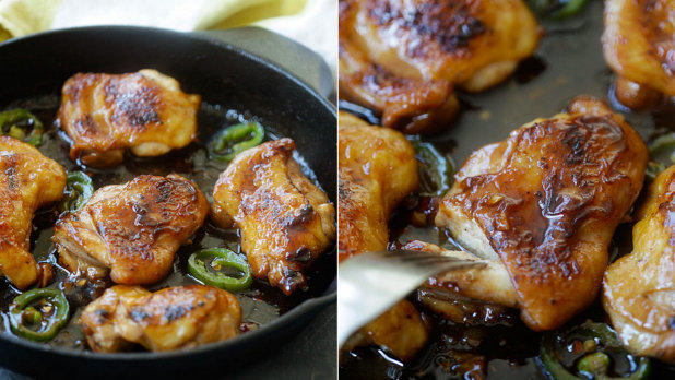 Vietnamské karamelové kuře