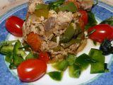 Uzená makrela na paprice, rajčatech s bylinkami recept ...