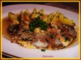 Rybí filety na sardeli recept