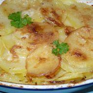Vegetariánské zapečené brambory recept