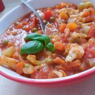 Zeleninová pánev v rajčatové omáčce recept