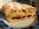 Švestkovo-jablkový koláč recept